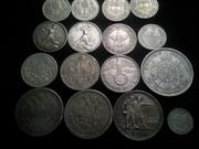 Продам монеты Серебро.