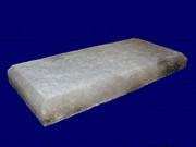 Кирпич, плитка из натуральной соли,  соляные светильники в ассортименте.