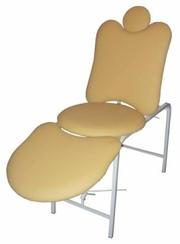 Косметологическая кушетка, педикюрное кресло, массажный стол, парикмахерс