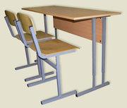 Школьные столы и стулья с регулировкой высоты