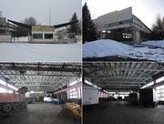 Территория автобазы 5, 8 га вместе с зданиями общей площадью 8000 м2