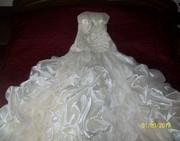 Продам ШИКАРНОЕ сваденое платье