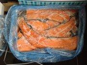 Морепродукты, хребты, головы, филе, брюшки, салака, фарель, лосось