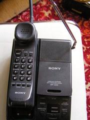 телефон б/у стационарный Sony