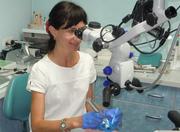 Высокоспециализированный врач-стоматолог предоставляет полный комплекс