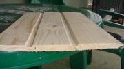Деревянная доска вагонки сосна,  смерека