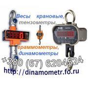 Весы - динамометры крановые от 120кг до 50тонн,  граммометры,  тензометр