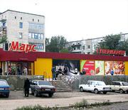 Отдельностоящие помещение супермаркета в Молодогвардейске