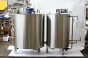 Ванна длительной пастеризации ВДП-600,  ОЗУ-600,  Г6-ОПА-600,  ВНС-600 дл
