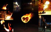 Огненные сердца и инсталяции в Луганске