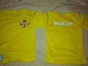 Детская футболка недорого.Футболка детская с именем на физкультуру