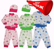 Костюмчики для новорожденных. Ясельные костюмы младенцам
