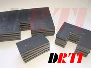 Скребок резиновый транспортера для сыпучих материалов