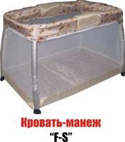 Кровать-манеж новый,  с жестким дном 950 грн.
