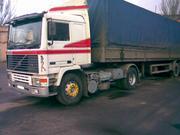 Volvo F12 - седельный тягач + Полуприцеп